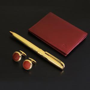 Wallet, pen & cufflinks set - dahnag