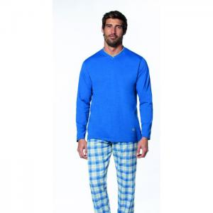 Single jersey top & light flannel winter pyjama - guasch