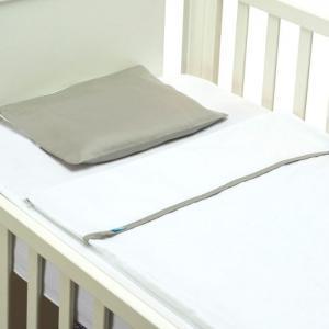 Easy Baby Bed - Smooth gray - 60x120 cm  - B-MUM