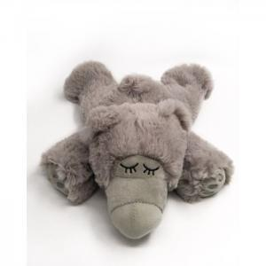 Thermo teddy: frid gray (filling natural microwave and fridge) - juguetes y peluches neo