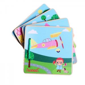 Picture Book WOOD FOR BABY: VEHICLES - JUGUETES Y PELUCHES NEO