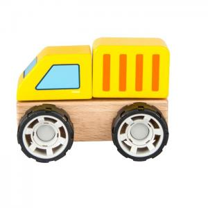 Wooden vehicle for mounting and dismounting: LORRY - JUGUETES Y PELUCHES NEO