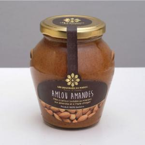 Almond amlou (based on organic argan oil) 370g - les douceurs du maroc