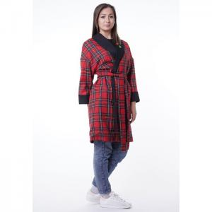 Coat robe, red - egostyle