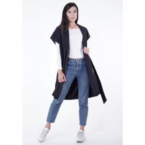 Women waistcoat, navy - egostyle