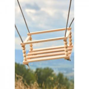 Wooden swing-1 (280*380*200) (beech) - tm goydalka
