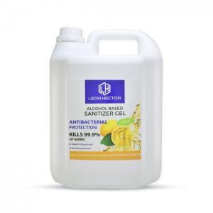 Leon hector sanitizer gel lemon 5ltr - leon hector
