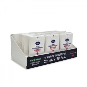 Smart instant hand sanitizer spray germ  protection 20ml 18pcs - smart