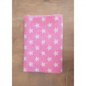 Kids Bath Towel- Stars Pink - HOME LAB