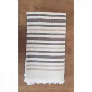 Beach towel - brown - home lab