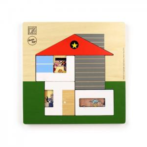 Joost swarte house puzzle - ikonic