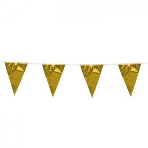 Bunting pe 10m - gold - we fiesta