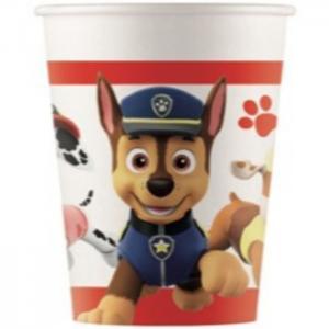 8 paper cups - patrulla canina - we fiesta