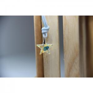 Swarovski Style Starfish Necklace  - Blombary Design