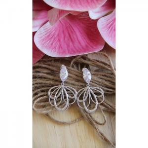 Matte Silver Earrings - Blombary Design