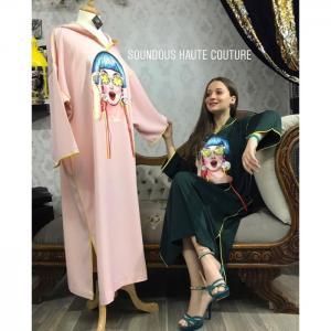 La funky jellaba -  soundouss haute couture
