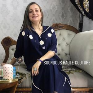 La kimono jellaba -  soundouss haute couture