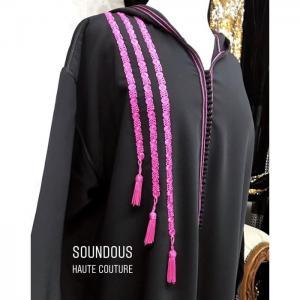 Zwak et chouchates jellaba -  soundouss haute couture