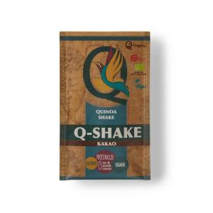 Organic quinoa q-shake with raw cocoa - q-organic