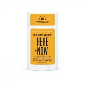 Sensitive deodorant - here + now - schmidt´s naturals