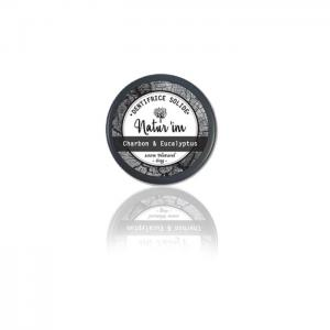 Solid charcoal eucalyptus toothpaste - natur'im