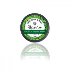 Mint & green clay toothpaste - natur'im
