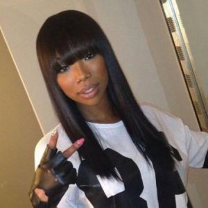 Fringe straight wig - shee fashion'z house