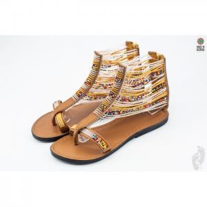 Suzie 5'' sandals - azu's leather ltd