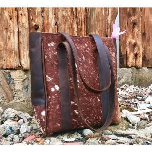 Hairon Leather Totebag  WL07 - Wanjiline Leather