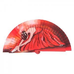 Jose blay red fagus wooden fan
