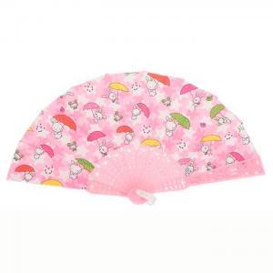 Jose blay pink plastic fan