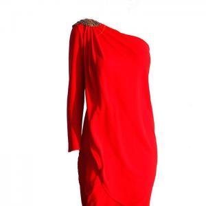 Elisa cortés tiffany's long dress