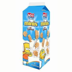 Arluy minis simpsons vanilla
