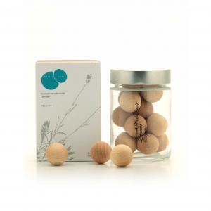Fragàncies Del Montseny Aromatic Wooden Balls / Lavender