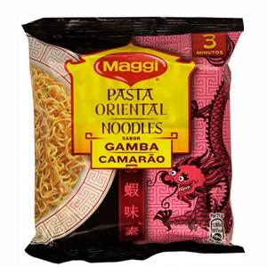 Maggi oriental pasta shrimps