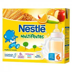 Nestlé liquid mush multifruits