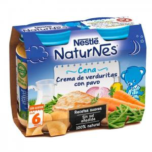 Nestlé naturnes cream vegetables with turkey