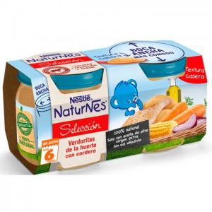 Nestlé naturnes vegetable ''de la huerta'' with lamb