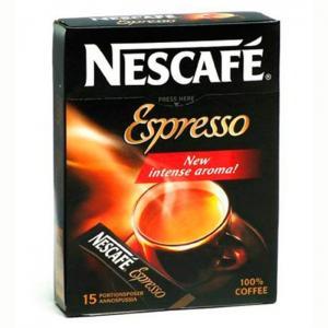 Nescafé espresso 15 envelopes