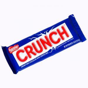 Nestlé crunch chocolate