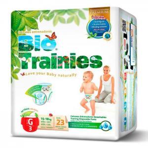 Bio baby bio trainies epp unisex s/3 g 4/23's