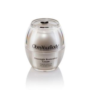 Overnight restorative cream - mineraux collection - obey your body