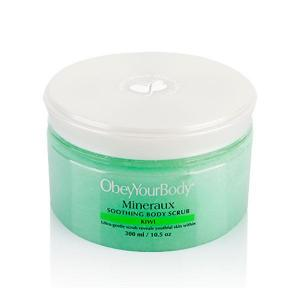 Soothing body scrub kiwi- mineraux collection - obey your body