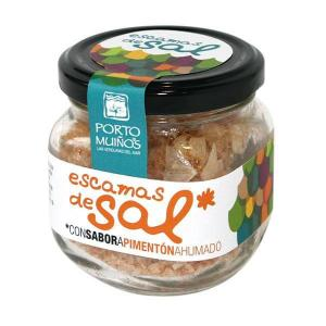 Salt scales flavored with smoked paprika - porto muiños