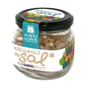 Salt scales flavored with mushroom - porto muiños