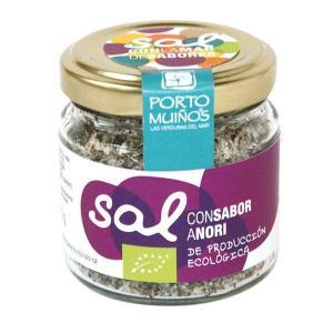 Ecologic salt with nori flavor - porto muiños