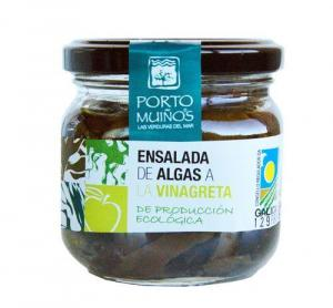 Seaweed salad with vinaigrette - porto muiños