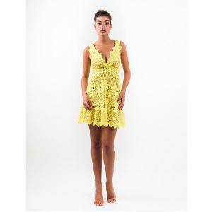 Queen moda dress altea - crocheted lace