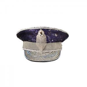 Captain luxury hat universe blue - gianin
