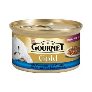 GOURMET GOLD Double pleasure with Ocean Fish 85g - Purina